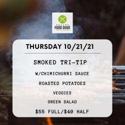 Thursday 10/21 - TriTip - $55/$40